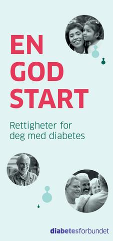 Bilde av En god start - Rettigheter for deg med diabetes